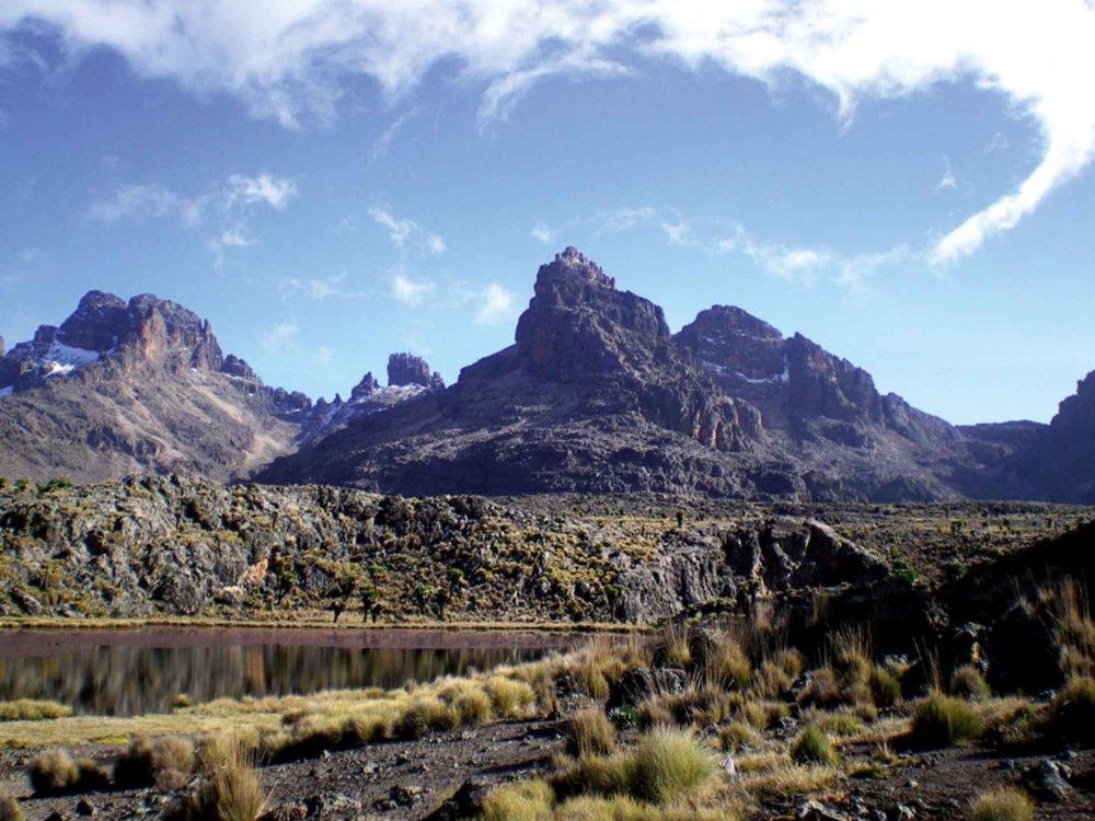 Mount Kenya Besteigung (4.985 m)