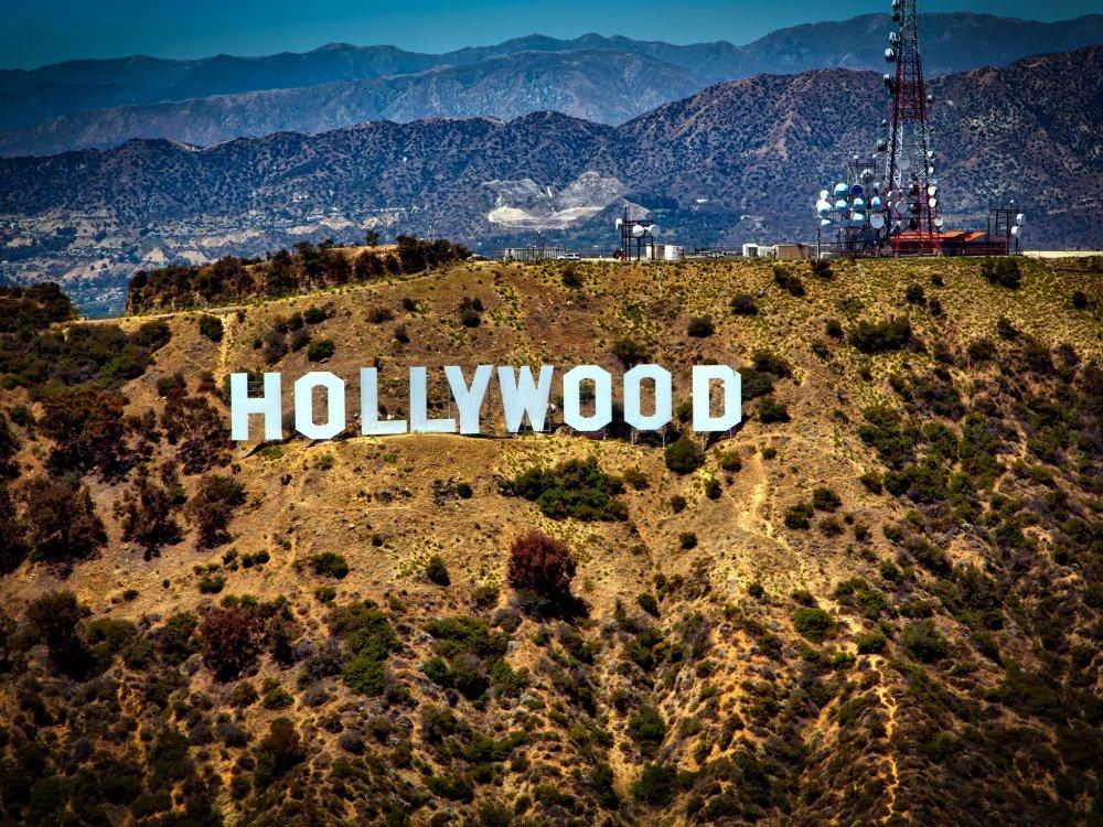 Der berühmte Hollywood Schriftzug