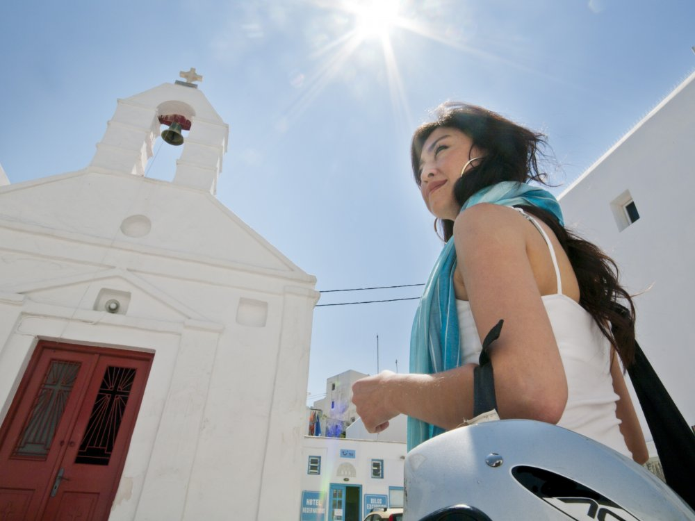Mykonos Kirche Traveller