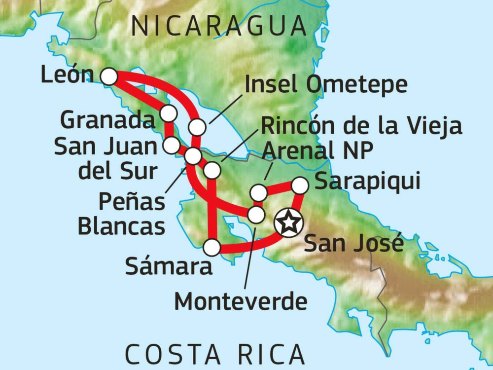 198Y31001 Rica Nica Karte