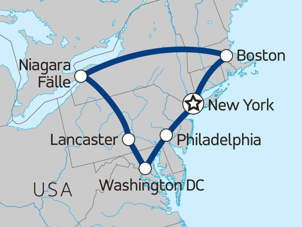 139Y10003 Freedom Trail Karte
