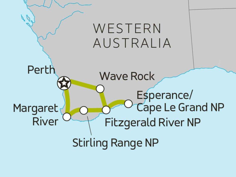 104Y20036 Überraschender Südwesten Karte