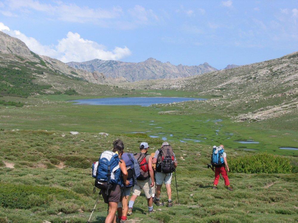Korsika - Nord - Weite Ebene