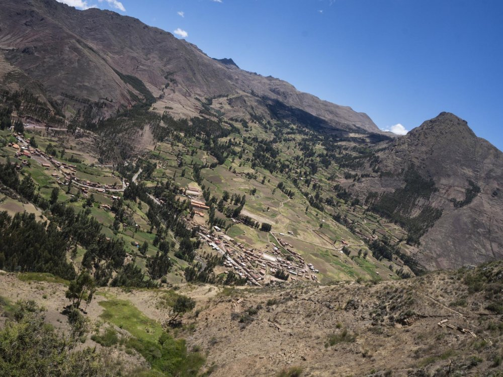 Landschaft im Sacred Valley