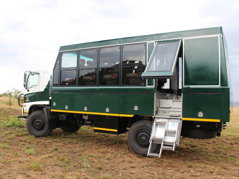 Overland Truck in Afrika