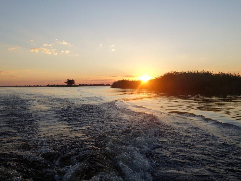 Chobe-river-sunset