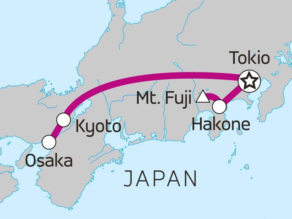 117Y15013 Japan Reise für junge Weltentdecker Karte