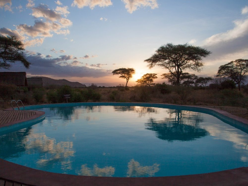Tarangire Simba Lodge Pool