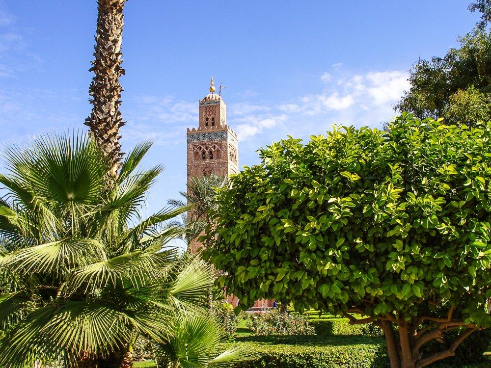Park in Marrakesch
