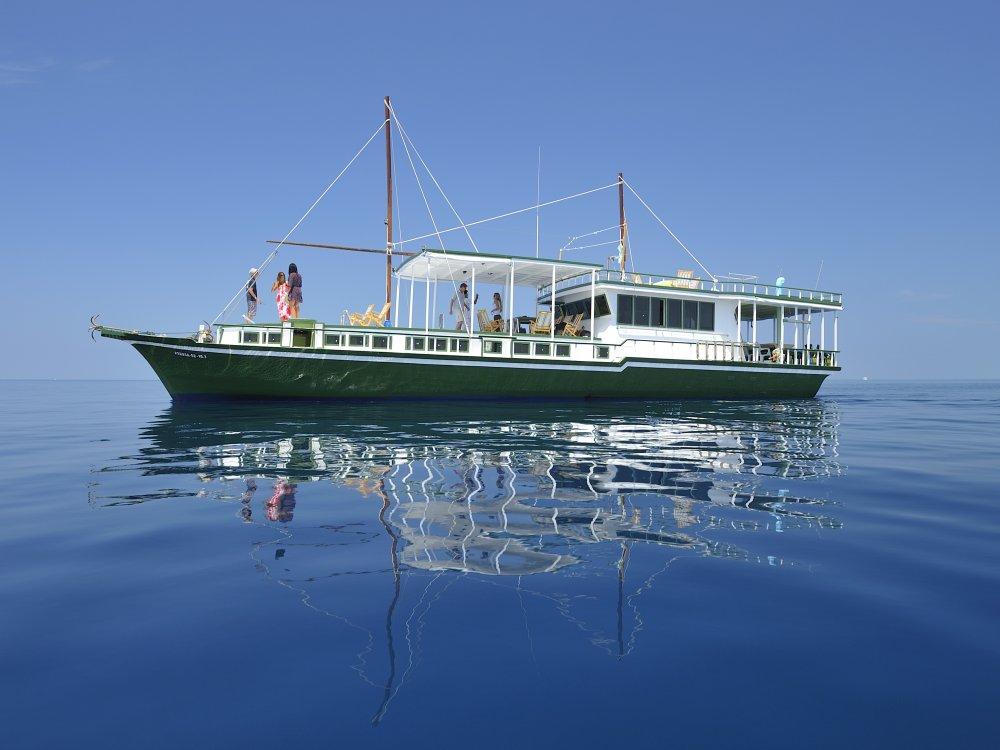 Malediven Segelboot Gahaa