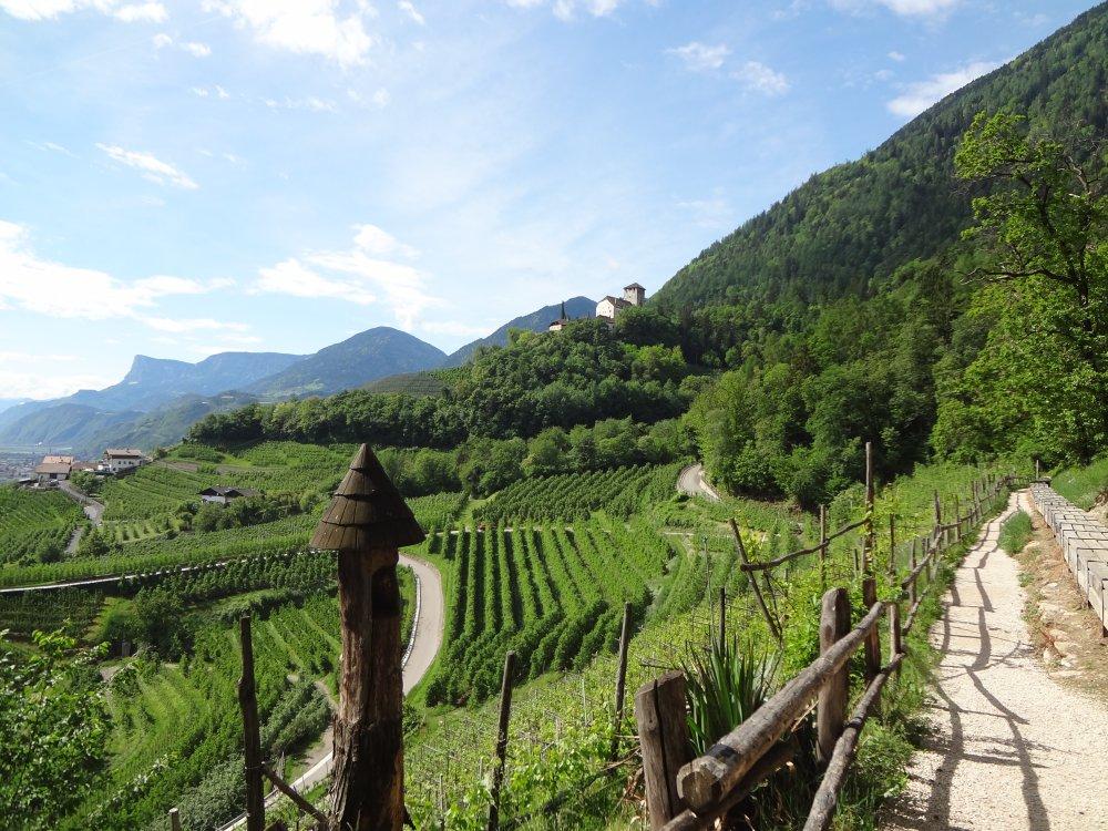 Südliche Weinstraße in Südtirol