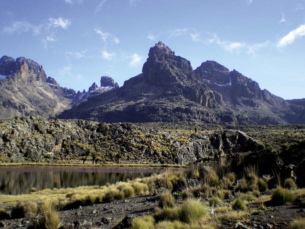 Mt. Meru & Kilimandscharo Besteigung