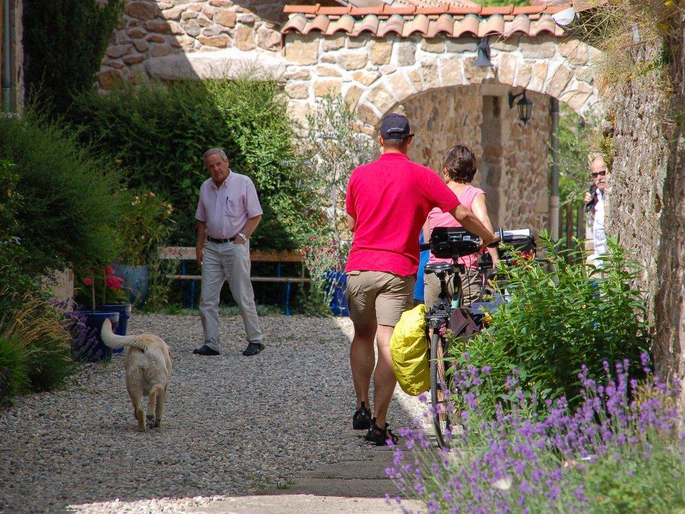 Ardeche - Dorf mit Rädern