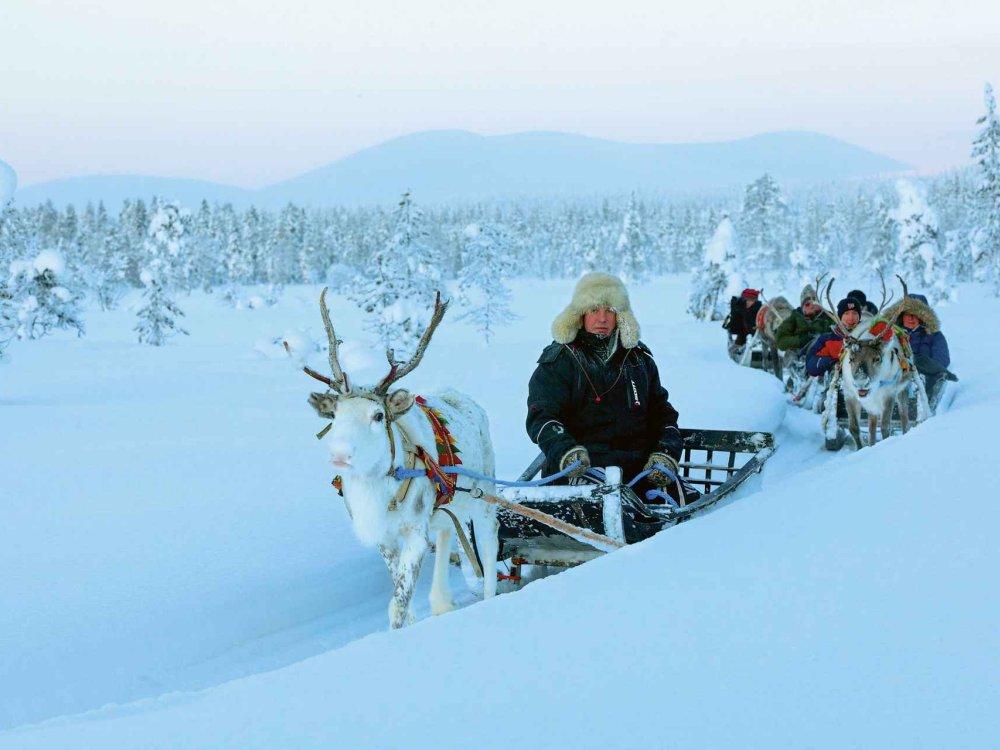 Authentisches Lappland