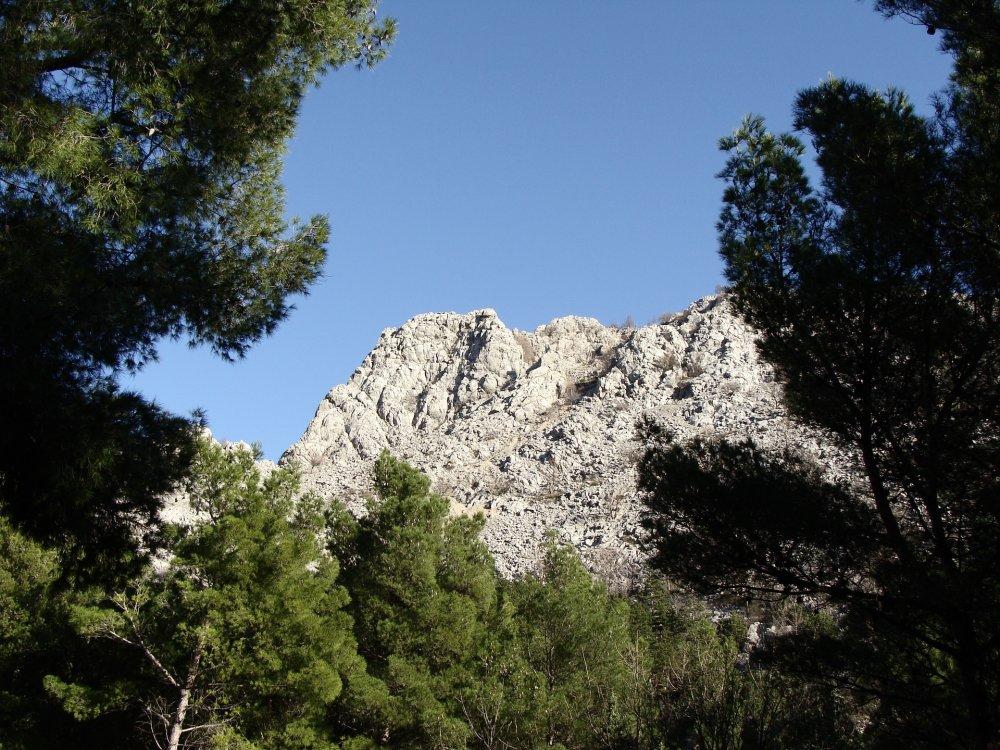 Landschaft im Paklenica Nationalpark