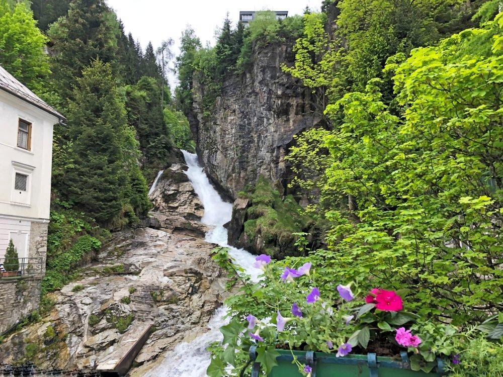 Alpe Adria Radweg Gasteiner Wasserfall