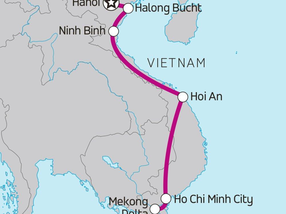 Vietnamintro Karte
