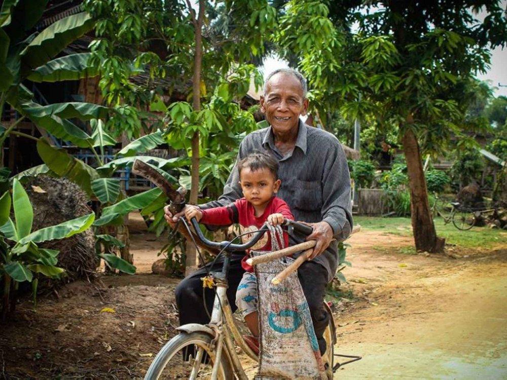 Angkor Fahrraderlebnis