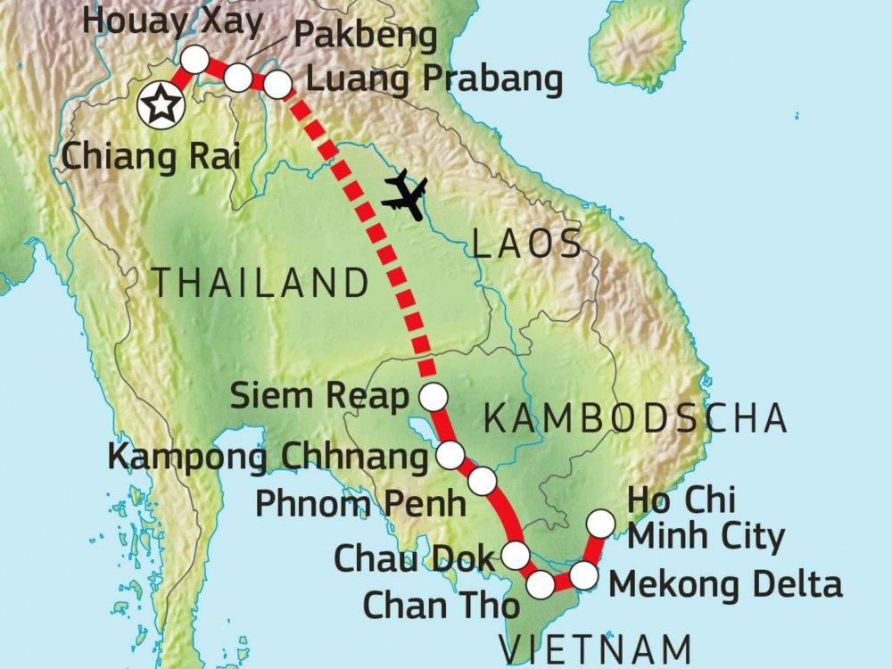 152E20100 Lebensader Mekong Karte