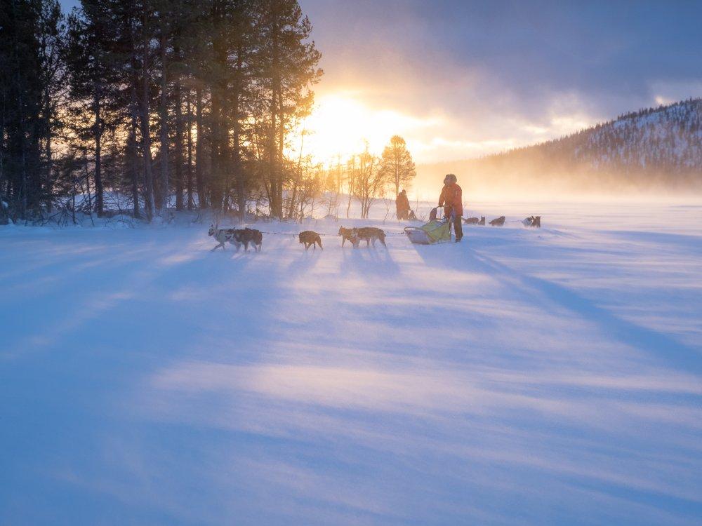 Unterwegs in der schwedischen Wildnis