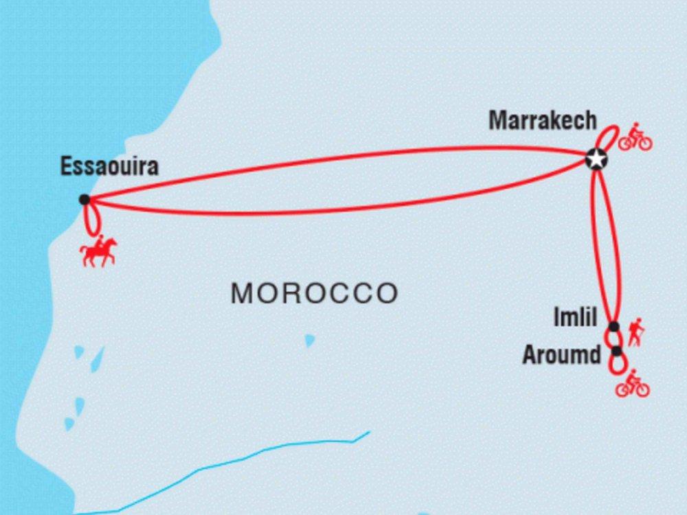 122Y60069 Marokko aktiv Karte