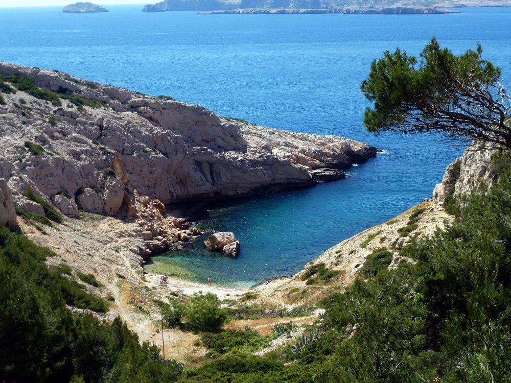 Bucht bei Marseille