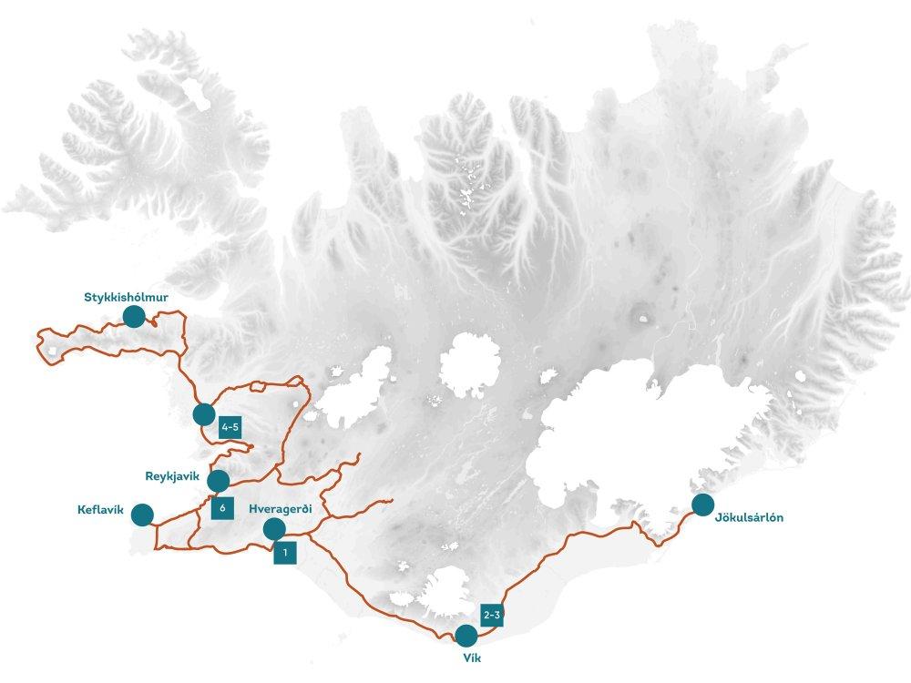 Islands Naturgewalten - Geysir, Gletscher, Wasserfälle