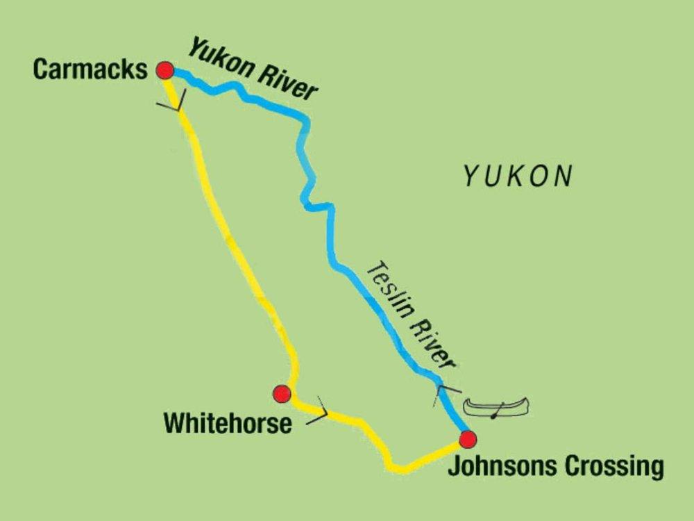 187Y21004 Spirit of the Yukon Karte