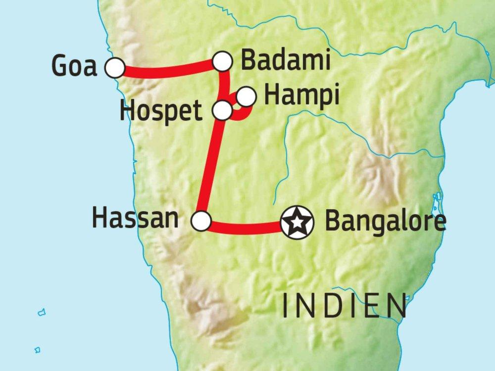 Karnatakas Goa Karte