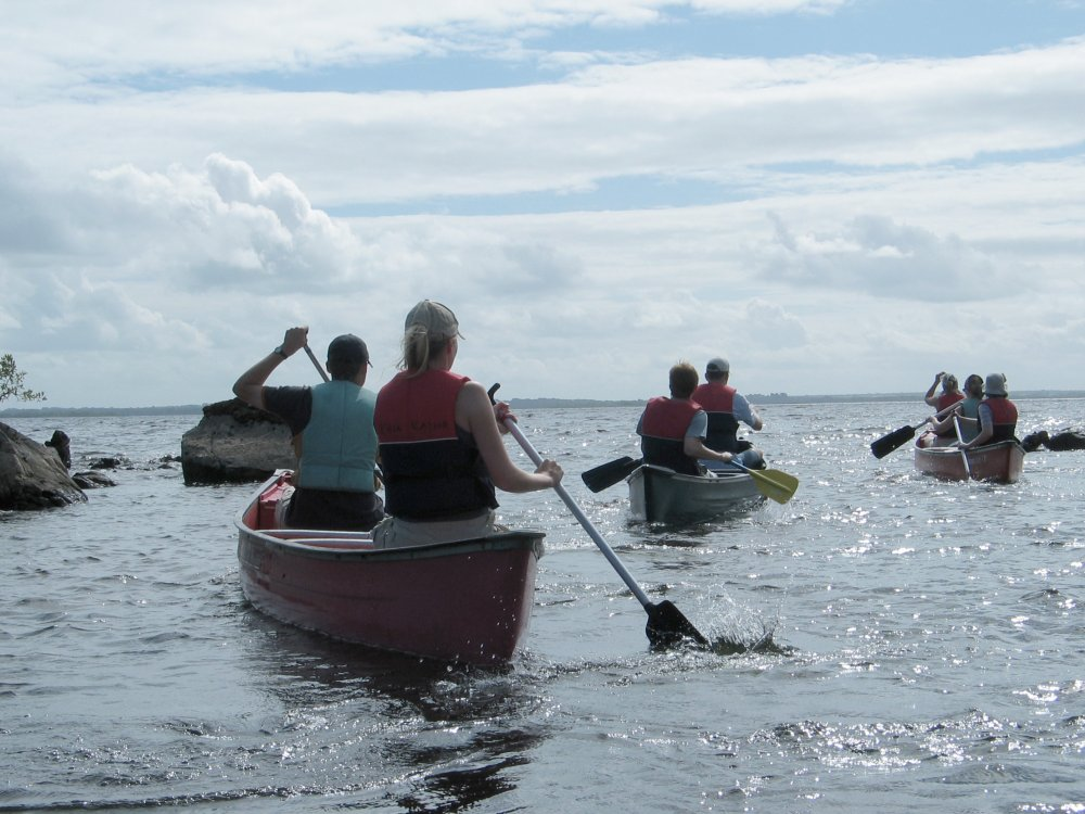 Kanutour in Westirland