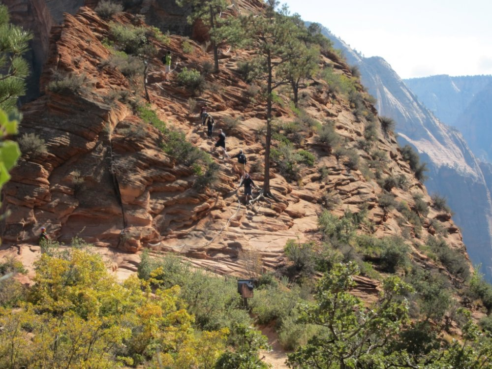 Wandertour im Zion Nationalpark