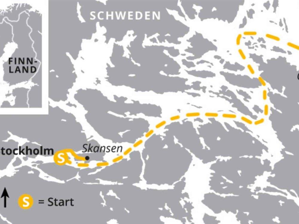 123H10041 Stockholm aktiv erleben Karte