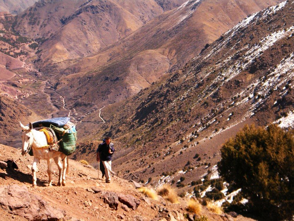 Mount Toubkal Besteigung