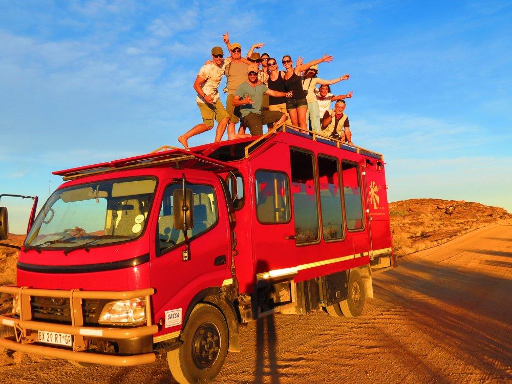 Safari Truck in Südafrika