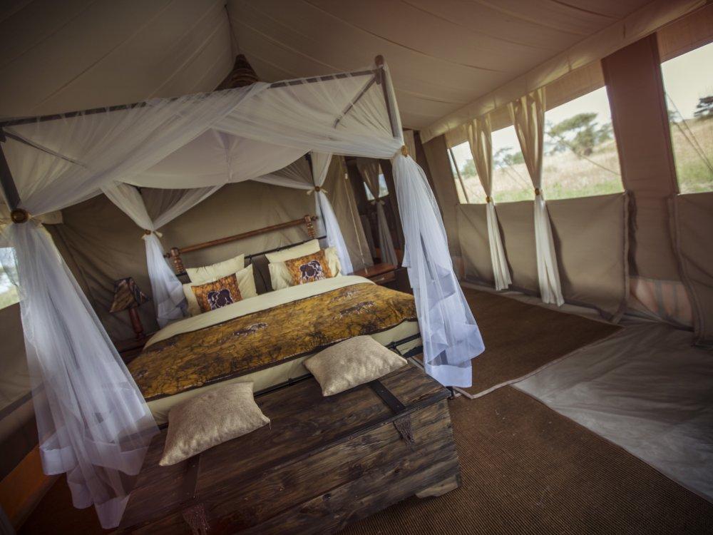 Wohnzelt Serengeti Tortilis Camp