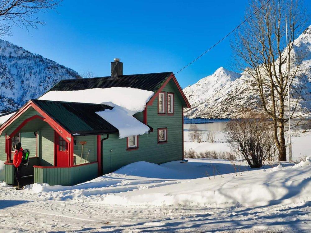 Unser Haus auf den Lofoten