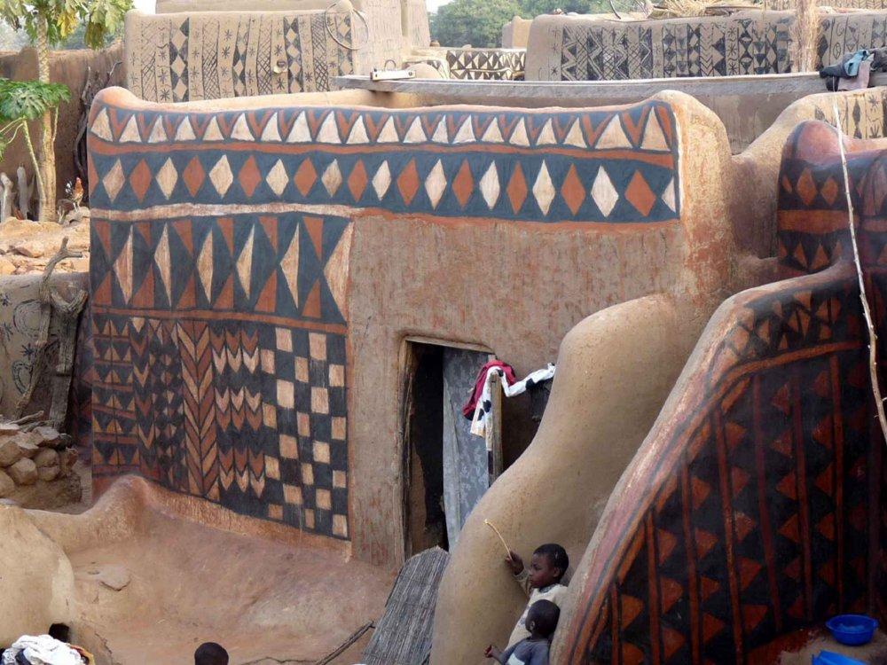 167W20003 Burkina Faso mit Pendjari Nationalpark Karte