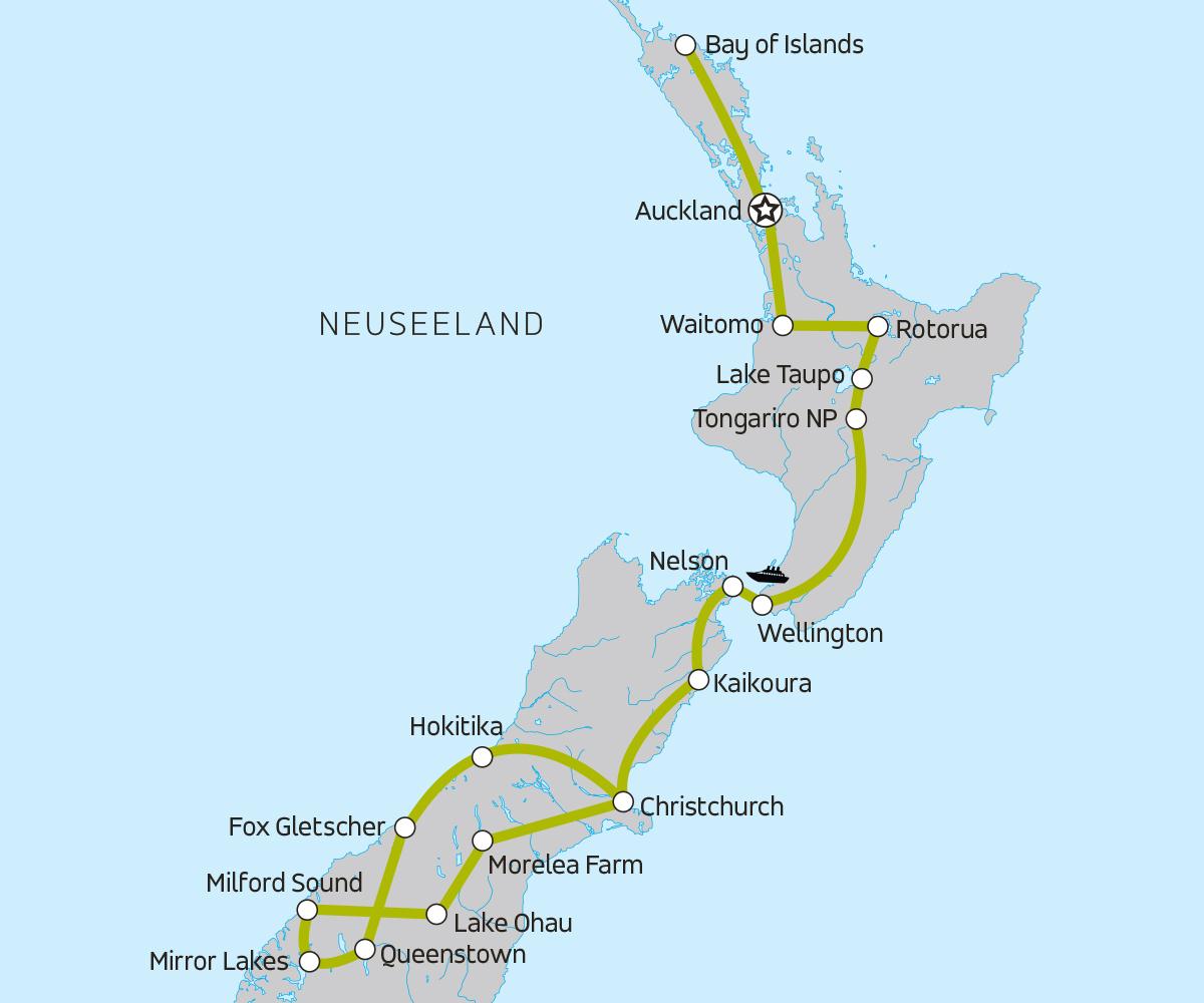 Neuseeland Reise Fur Junge Leute Moja Travel