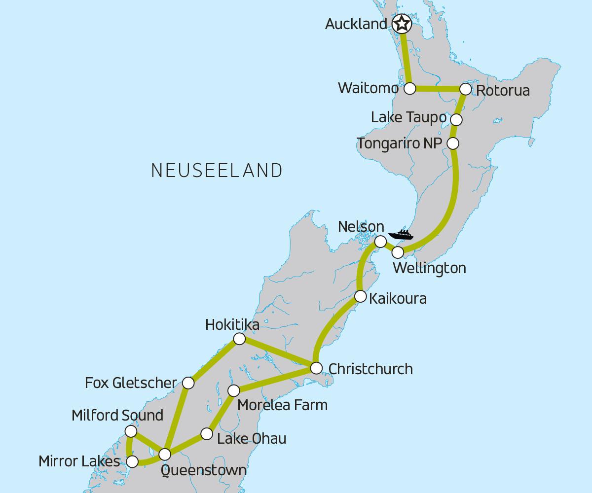 neuseeland erlebnisreise f r junge weltentdecker moja travel. Black Bedroom Furniture Sets. Home Design Ideas