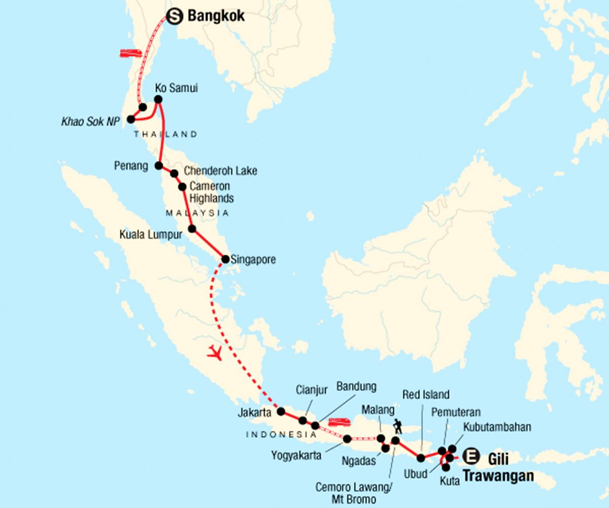 Erlebnisreise von Thailand nach Bali - moja TRAVEL