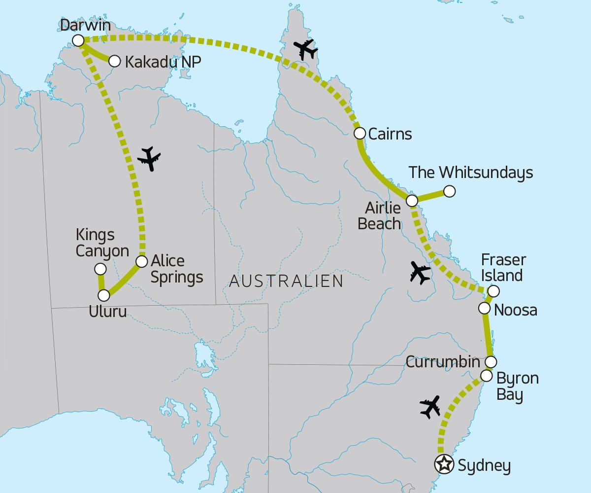 Australien Erlebnisreise für junge Leute - moja TRAVEL