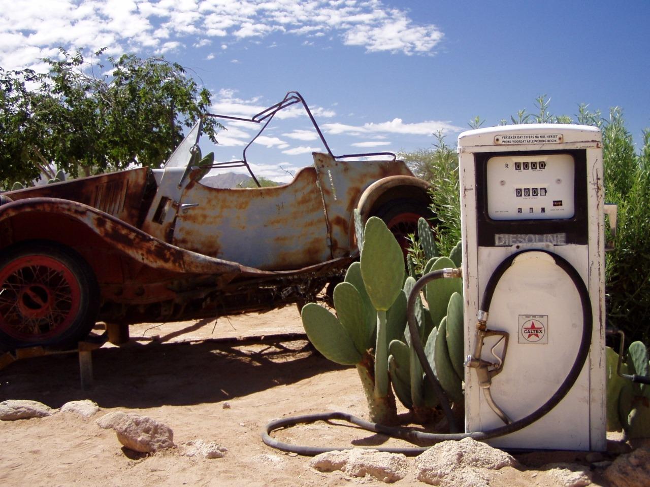 Solitaire - eine Tankstelle im Nirgendwo