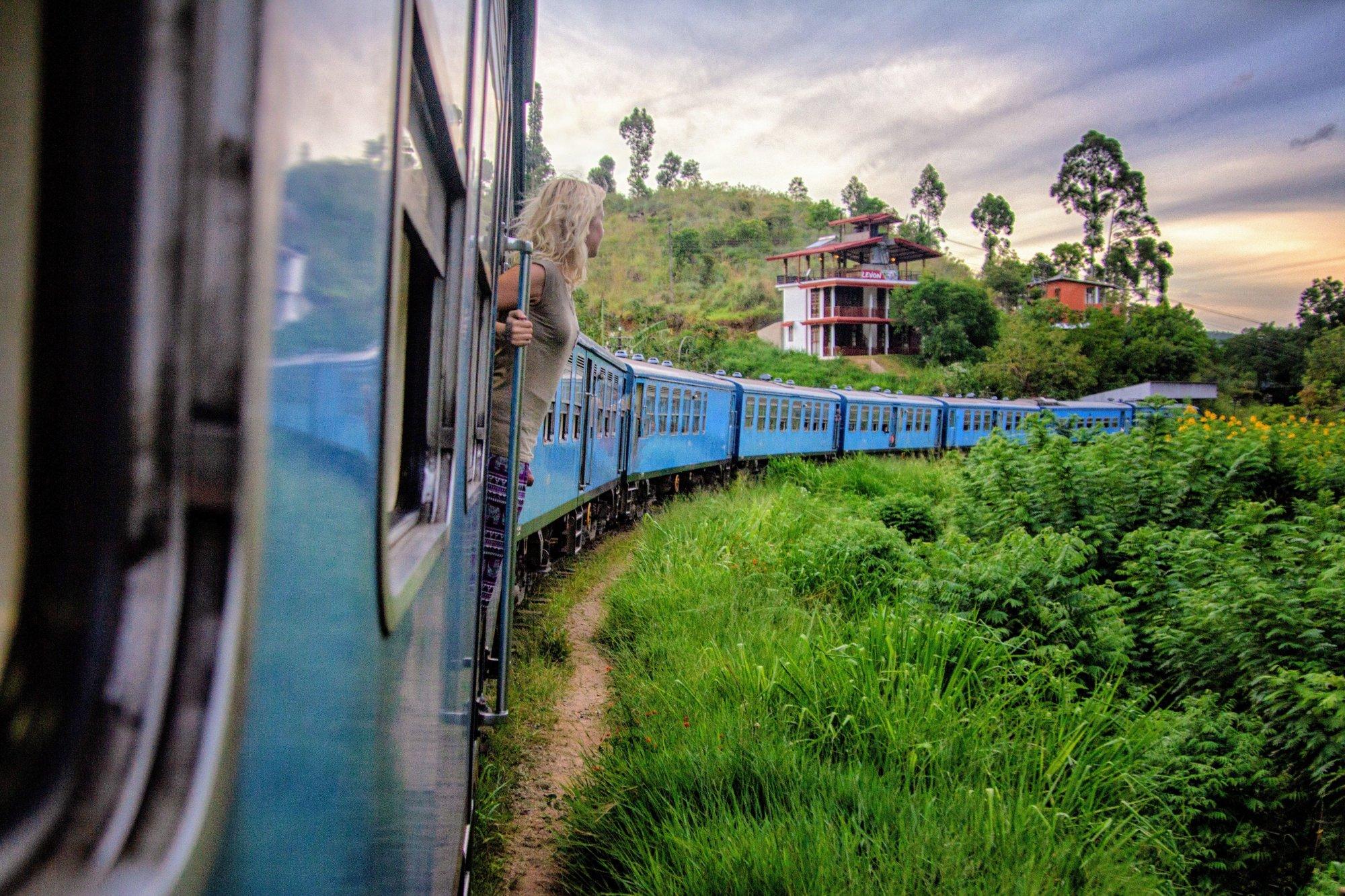 Zugfahrt nach Ella in Sri Lanka