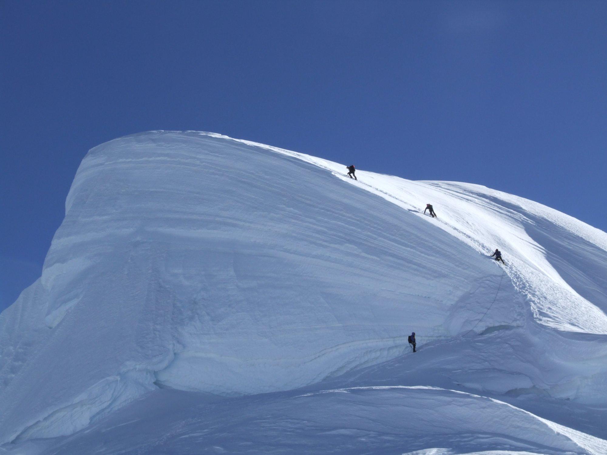Chopicalqui in der Cordillera Blanca
