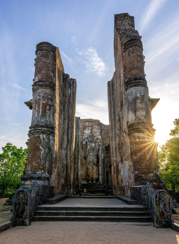 Polonnaruwa Tempelanlage
