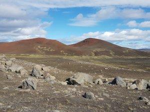 Farbenprächiges isländisches Hochland
