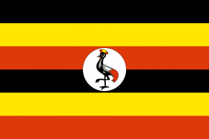 Uganda Flagge