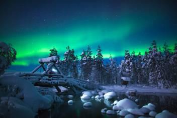 Nordlichter Wochenende in Finnland