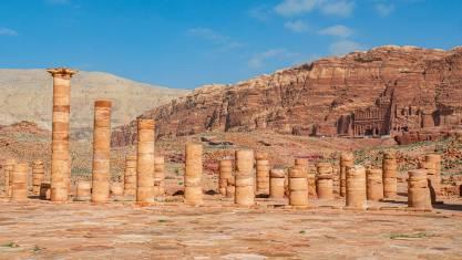 Königswand in Petra