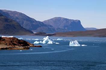 Bucht der Eisberge in Südgrönland